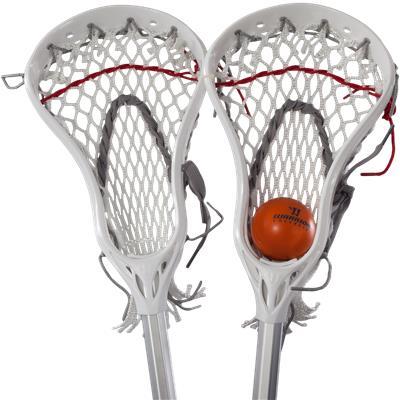 Mini Evo 4 Sticks (Warrior Mini Lacrosse Target Pop-Up Set w/ Travel Bag)