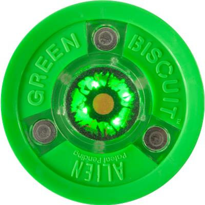 (Green Biscuit Alien Puck)