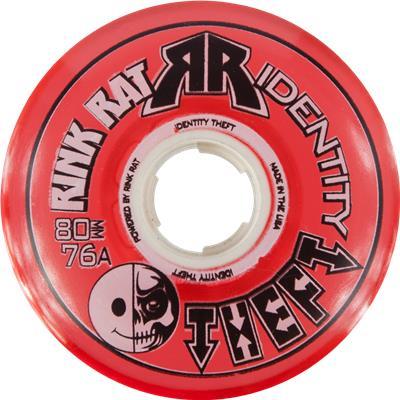 Red (Rink Rat Identity Theft Inline Wheel)