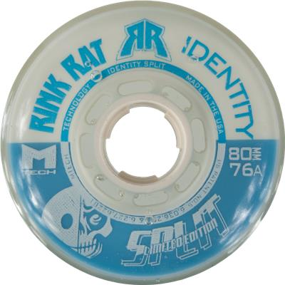 Blue/White (Rink Rat Identity Split Inline Wheel)
