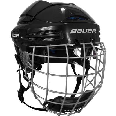 Black (Bauer 5100 Helmet Combo II)