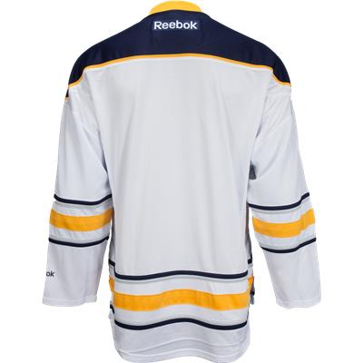 Back View (Reebok Buffalo Sabres Premier Jersey - Away/Dark)