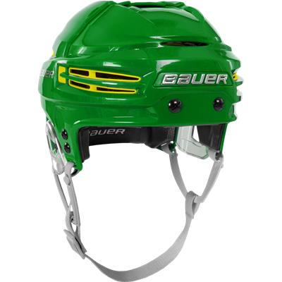 Example Of Kelly Green Shell w/ Yellow Vents (Bauer RE-AKT 100 CUSTOM Hockey Helmet)
