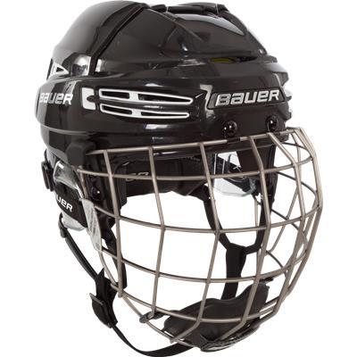 (Bauer RE-AKT 100 CUSTOM Hockey Helmet Combo)