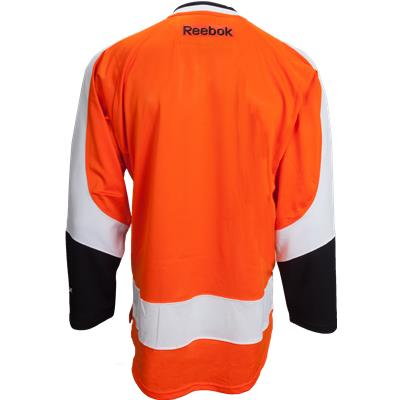 Back View (Reebok Philadelphia Flyers Premier Jersey - Home/Dark - Adult)
