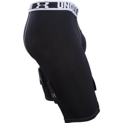 Side View (Under Armour Purestrike Compression Hockey Shorts w/ Cup)