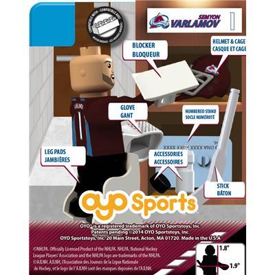 (OYO Sports Colorado Avalanche NHL Mini Figures - Home Jersey)