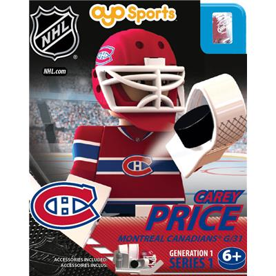 Carey Price (OYO Sports Montreal Canadiens NHL Mini Figures - Home Jersey)