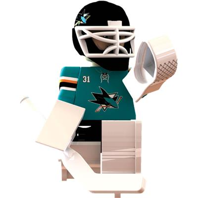 (OYO Sports San Jose Sharks NHL Mini Figures - Home Jersey)