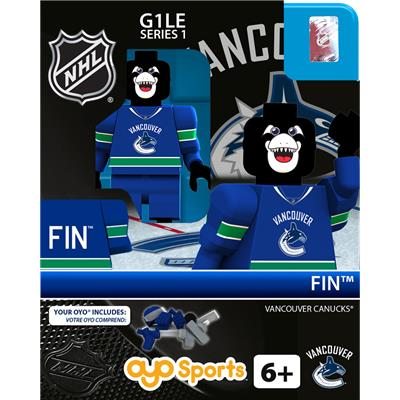 Fin the Whale (OYO Sports NHL Mascots G1 Mini Figures)