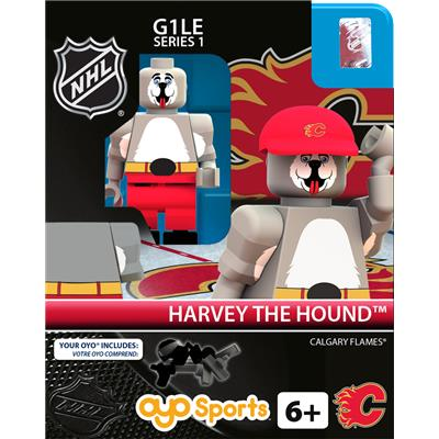 Harvey the Hound (OYO Sports NHL Mascots G1 Mini Figures)