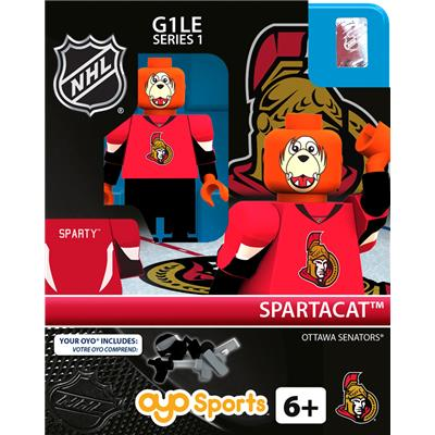 Spartacat (OYO Sports NHL Mascots G1 Mini Figures)