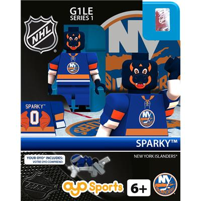 Sparky the Dragon (OYO Sports NHL Mascots G1 Mini Figures)