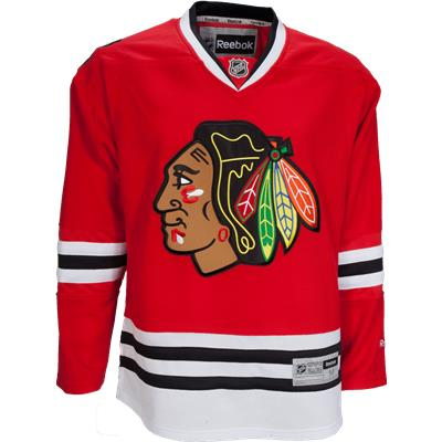 Chicago Blackhawks (Reebok Chicago Blackhawks Premier Jersey - Home/Dark)