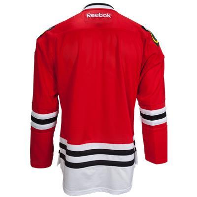 Back View (Reebok Chicago Blackhawks Premier Jersey - Home/Dark)