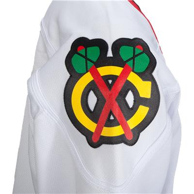 Shoulder Patch (Reebok Chicago Blackhawks Premier Jersey - Away/White - Youth)