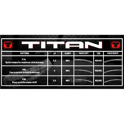 (Titan TPM 3030 Grip Composite Hockey Stick - Intermediate)