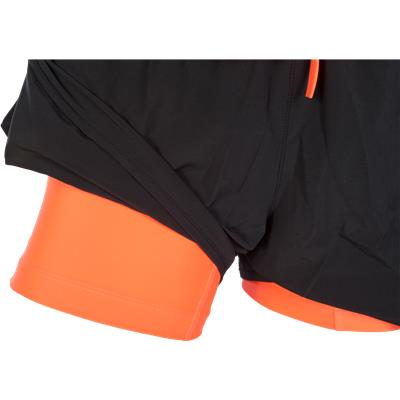 Compression Shorts Underneath (Nike Lacrosse Woven 2-in-1 Shorts)