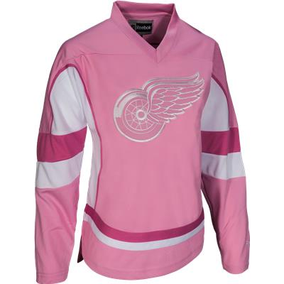 Detroit Red Wings (Reebok Detroit Red Wings Pink Fashion Jersey)