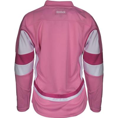 (Reebok Detroit Red Wings Pink Fashion Jersey)