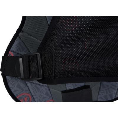 Back Detail (Warrior Burn Goalie Guard)
