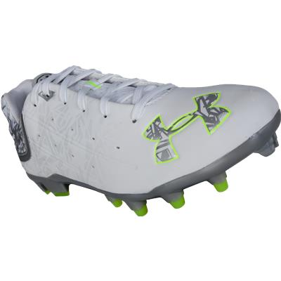 Front Three Quarters View (Under Armour Banshee MC Low Cleats)