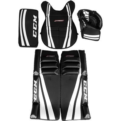 Black/White/White (CCM Street Goalie Equipment Kit)