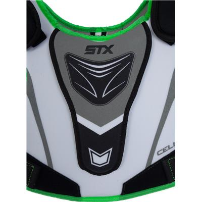 Sternum View (STX Cell 100 Shoulder Pads)