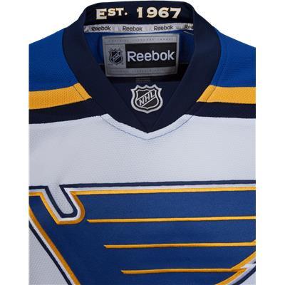 (Reebok St. Louis Blues Premier Jersey - Away/White)