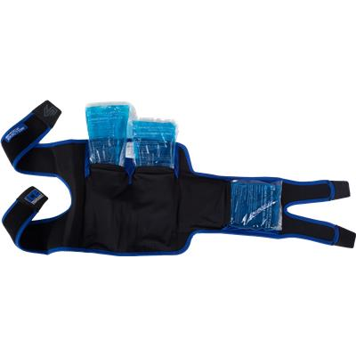 Inside View (Shock Doctor Ice Recovery Knee Wrap - Intermediate)