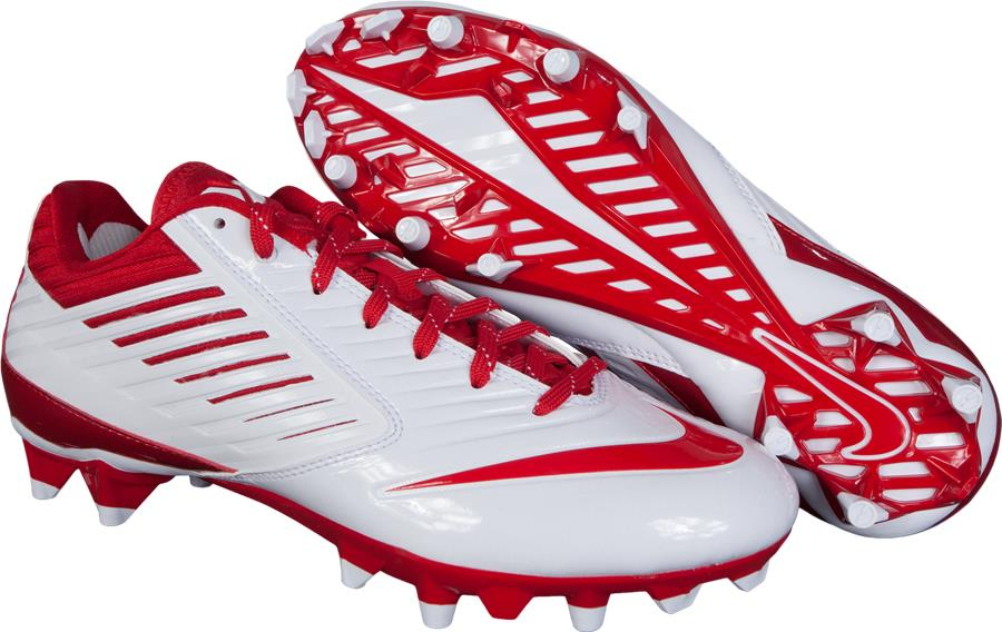 White/Red (Nike Vapor Speed Lax Cleats)