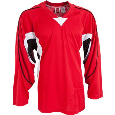 Red/White/Black (FlexxIce LITE 14100 Practice Jersey)