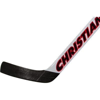 Senior (Christian 990 Foam Core Goalie Stick - White/Black/Red)
