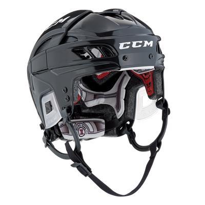 Black/Black (CCM FITLITE Hockey Helmet)