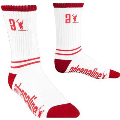 White/Red (Adrenaline Data Socks)