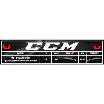 Blade Chart (CCM RBZ 70 LE Composite Stick)
