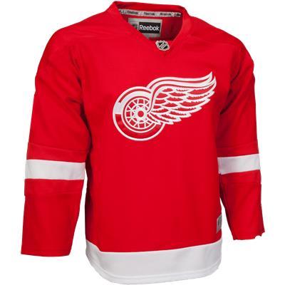 Detroit Red Wings (Reebok Detroit Red Wings Premier Jersey - Home/Dark)