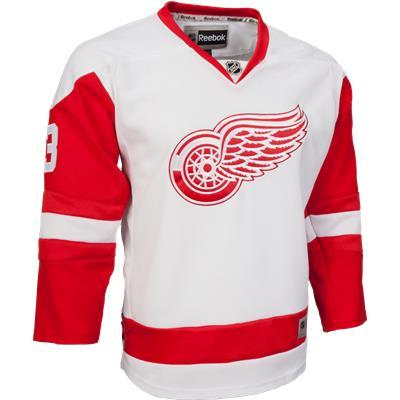 Detroit Red Wings (Reebok Detroit Red Wings Pavel Datsyuk Premier Jersey - Away/White - Youth)