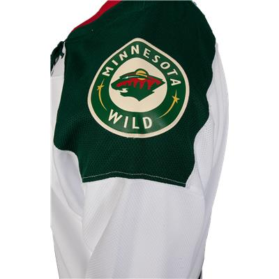 Shoulder Patch (Reebok Minnesota Wild Premier Jersey - Away/White - Youth)