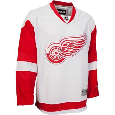 Detroit Red Wings (Reebok Detroit Red Wings Premier Jersey - Away/White - Youth)