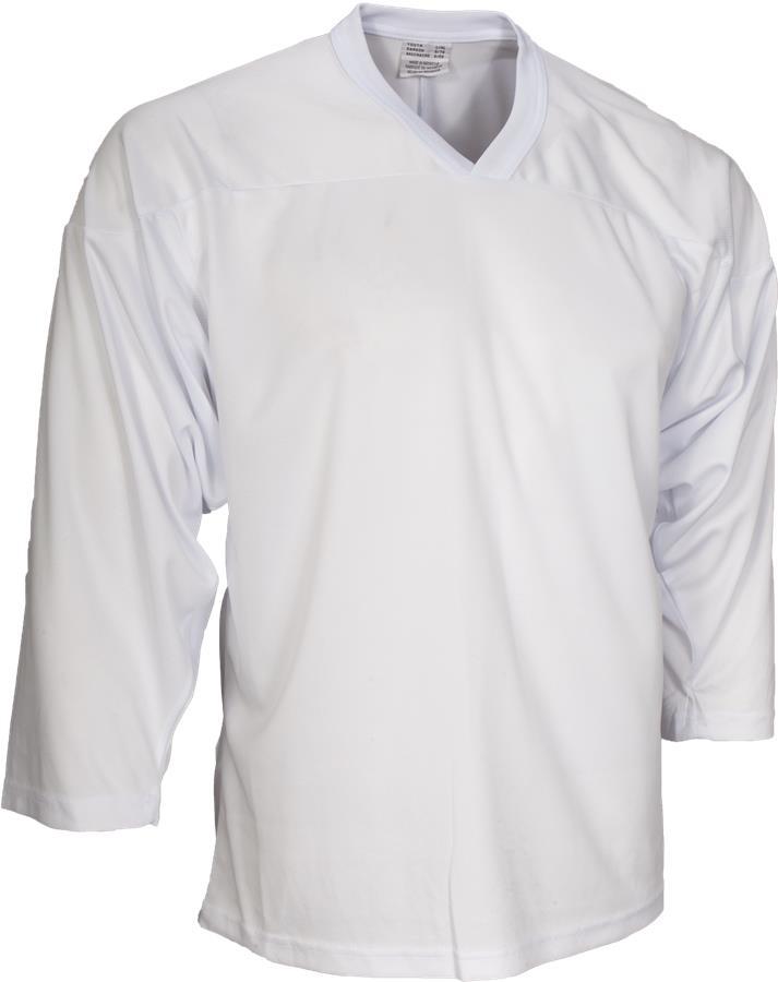 White (CCM 10200 Practice Jersey - Junior) b56a8b81d87