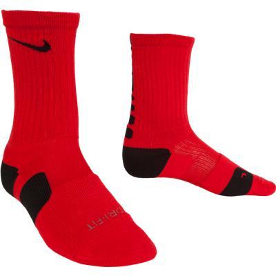 Red/Black (Nike Elite Crew Socks)