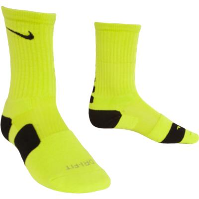 Volt/Black (Nike Elite Crew Socks)