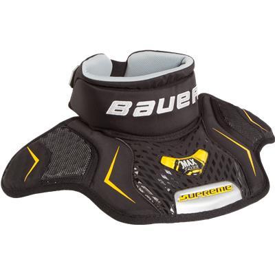 Black (Bauer Supreme Goalie Neck Guard)