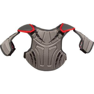 Back View (Under Armour Strategy Shoulder Pad)