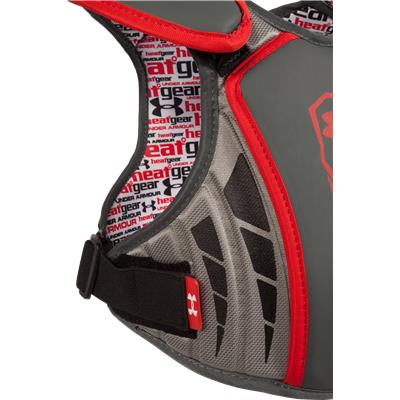 Side View (Under Armour Strategy Shoulder Pad)
