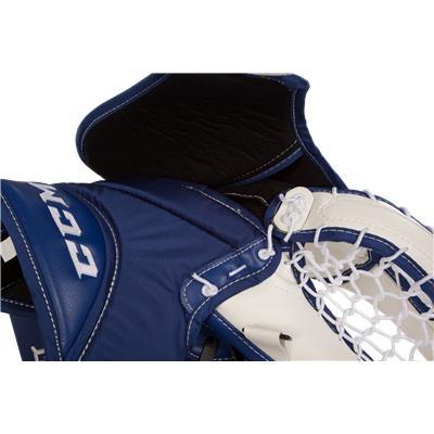 Backhand View (CCM Extreme Flex II 860 Goalie Catch Glove)