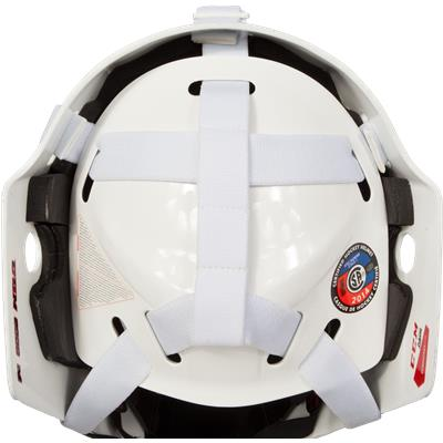 Back View (CCM 9000 Non-Certified Goalie Mask)