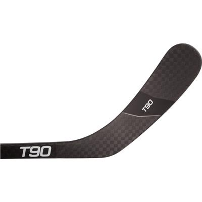 Forehand View (Sher-Wood T90 Gen II Grip Composite Hockey Stick - Intermediate)
