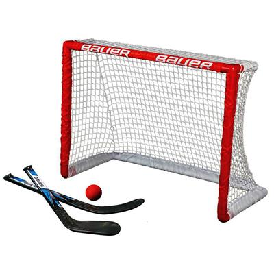 "30.5x23x13.5 (Bauer Knee Hockey Goal w/2 Sticks & Ball - 30.5""x23""x13.5"")"